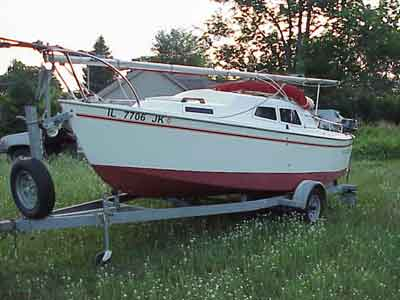 Call For A Complete Listing Of All Options And Modifications Available On This West Wight Potter 19 Or You May Write To RobVoigtGLSailboatCo
